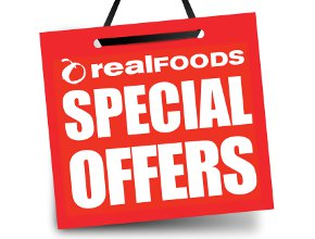 Special offers promotional sticker
