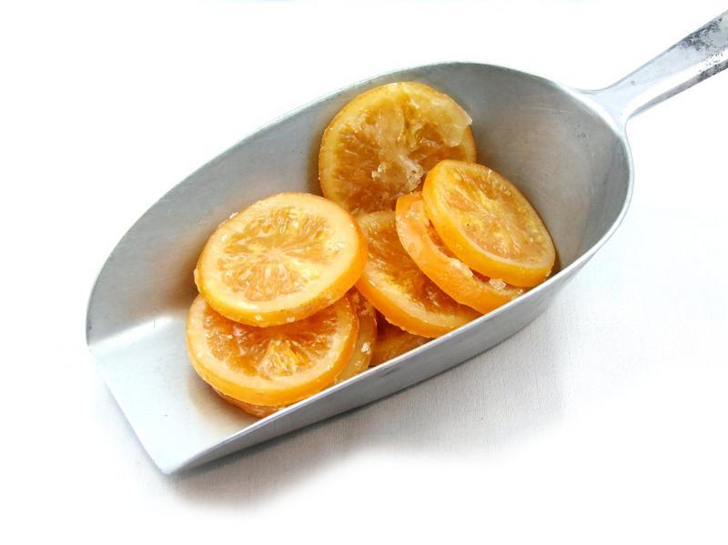 Glace Orange Rings