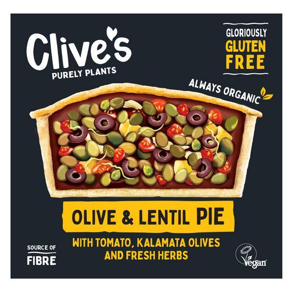 Lentil & Olive Pie Gluten Free, ORGANIC