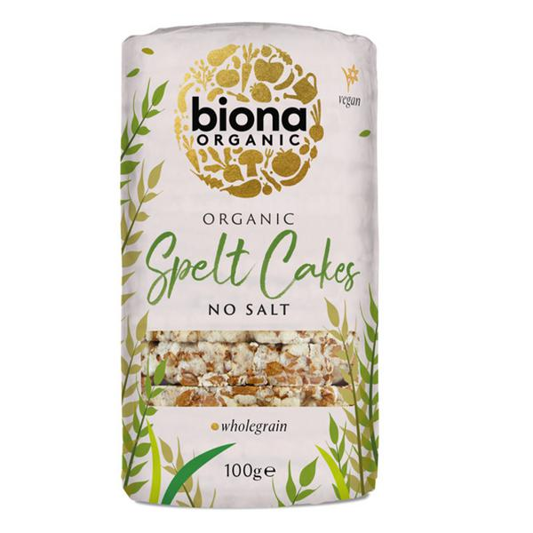 100% Spelt Cakes salt free, ORGANIC