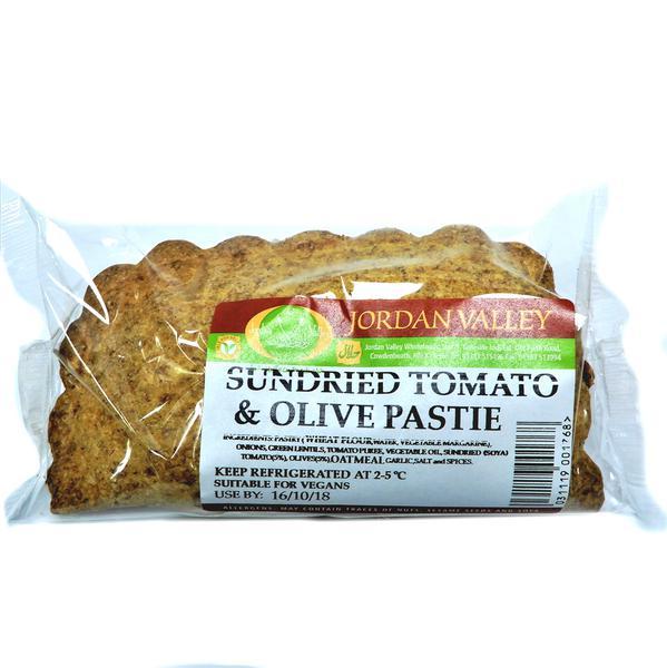 Sun-Dried Tomato & Olive Pastie
