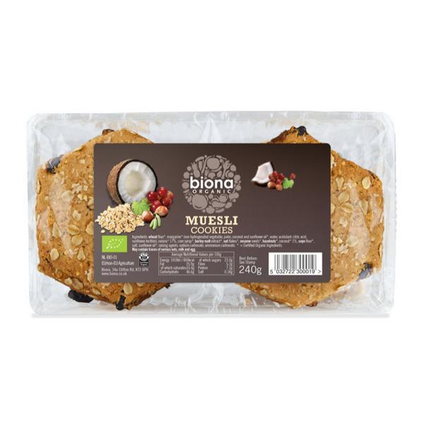 Muesli Cookies Vegan, ORGANIC