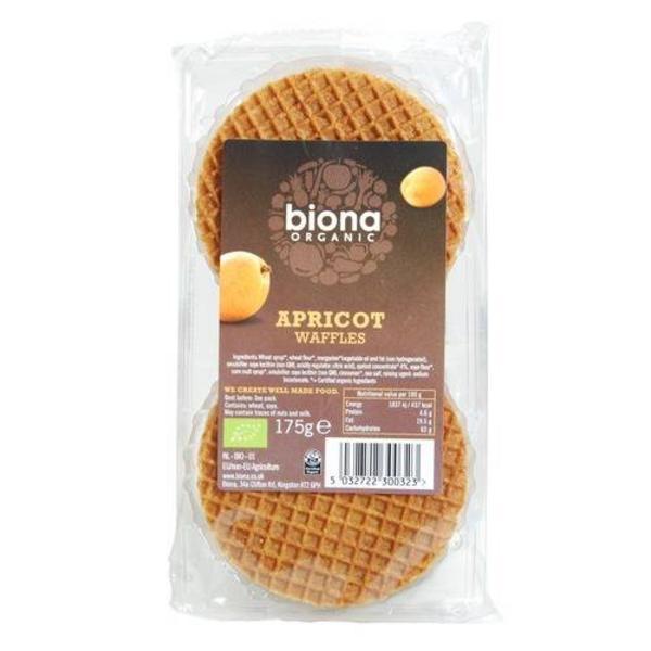 Apricot Waffles no added sugar, ORGANIC