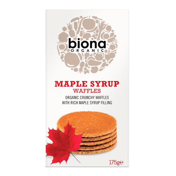 Maple Syrup Waffles Vegan, ORGANIC