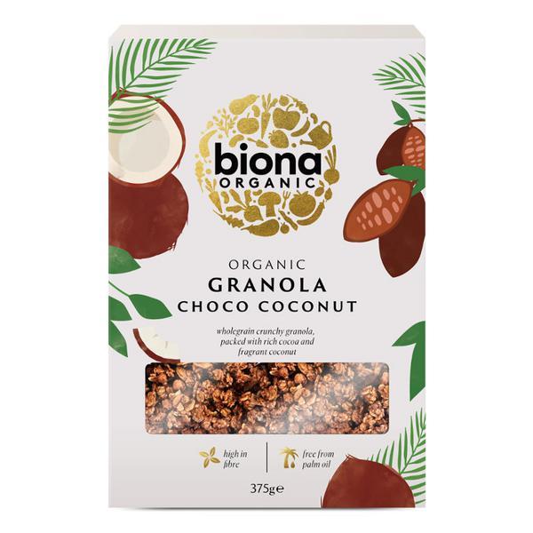 Choco Crunch Granola ORGANIC