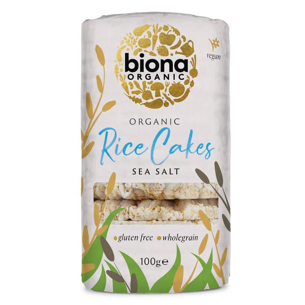 Organic Rice Cakes Salted In 100g From Biona