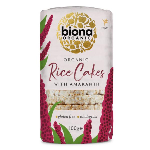 Amaranth Rice Cakes Gluten Free, no added sugar, yeast free, ORGANIC