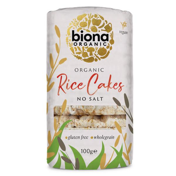 Rice Cakes no added salt, ORGANIC