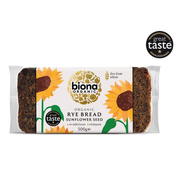 Sunflower Seed Rye Bread ORGANIC