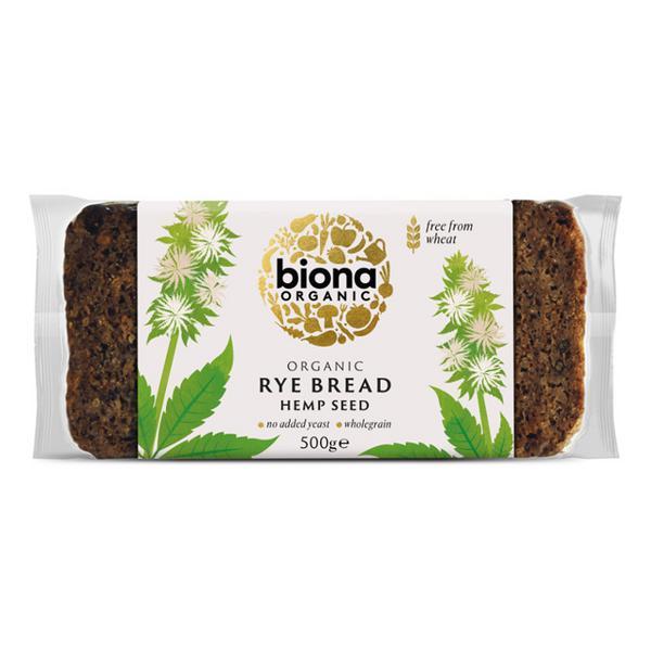Rye & Hemp Bread