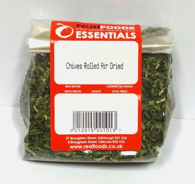 Chives Rolled Air Dried