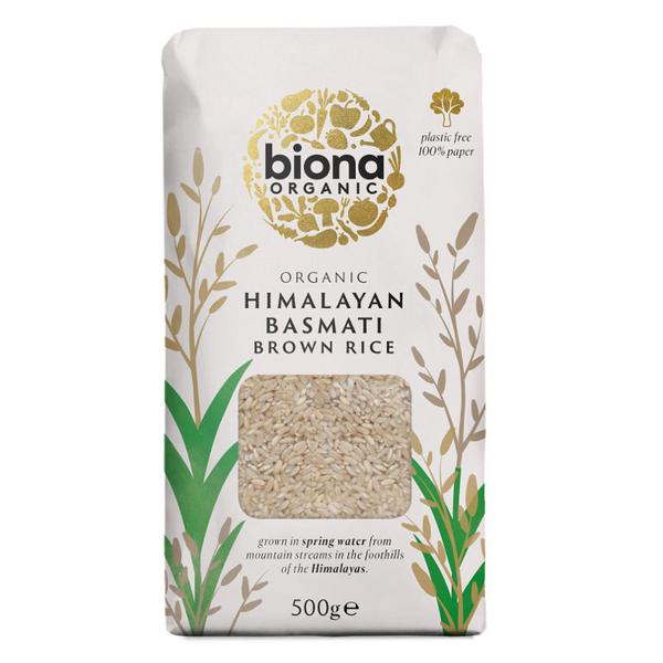 Brown Basmati Rice ORGANIC