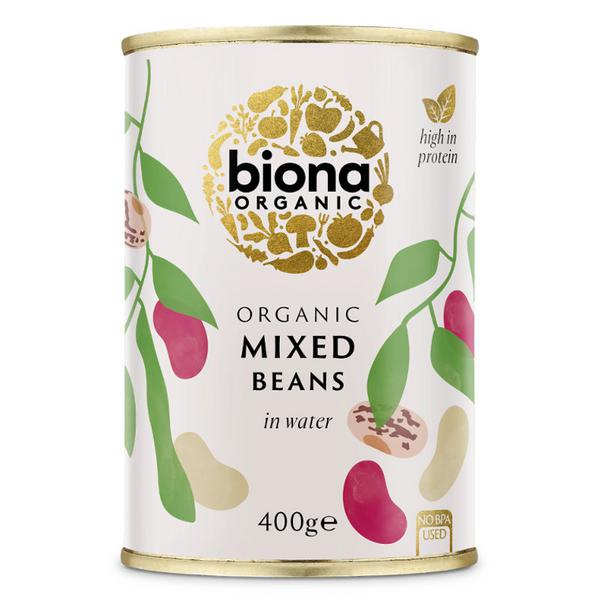 Bean Mix no added salt, no added sugar, ORGANIC
