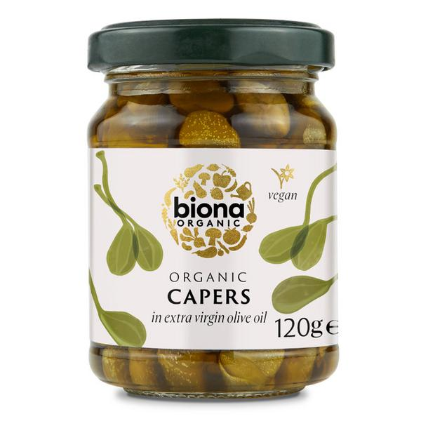 Capers In Olive Oil ORGANIC
