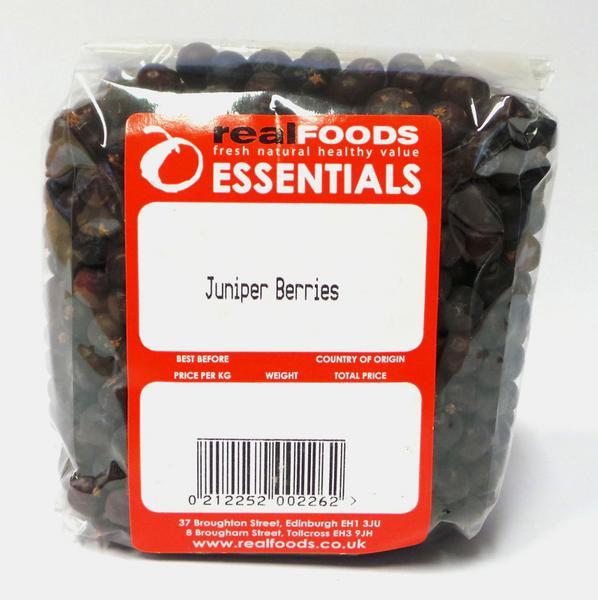 Juniper Berries From Real Foods Buy Bulk Wholesale Online