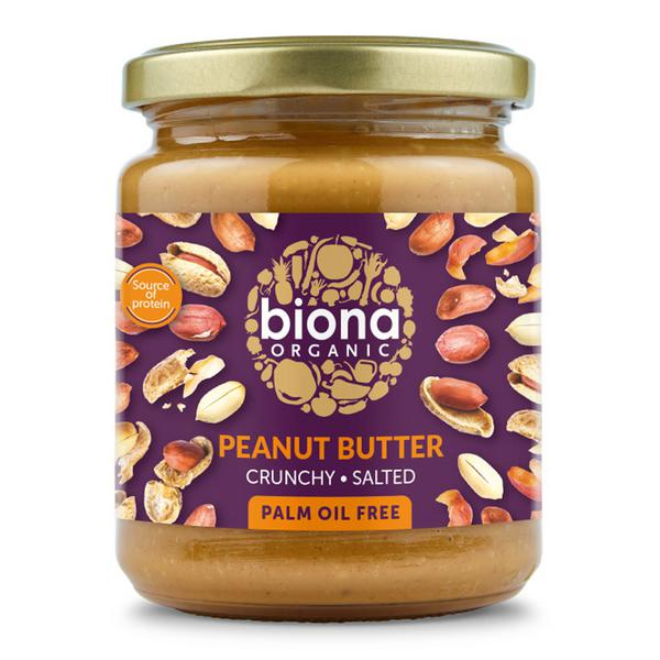 Crunchy Peanut Butter With Sea Salt ORGANIC