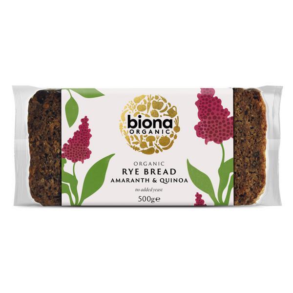 Rye,Amaranth & Quinoa Bread ORGANIC
