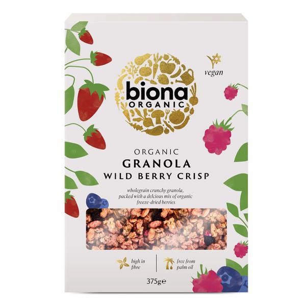 Granola Wild Berry Crisp Vegan, ORGANIC