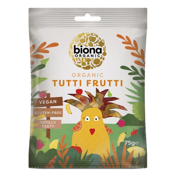 Tutti Frutti Wine Gums Sweets Vegan, ORGANIC