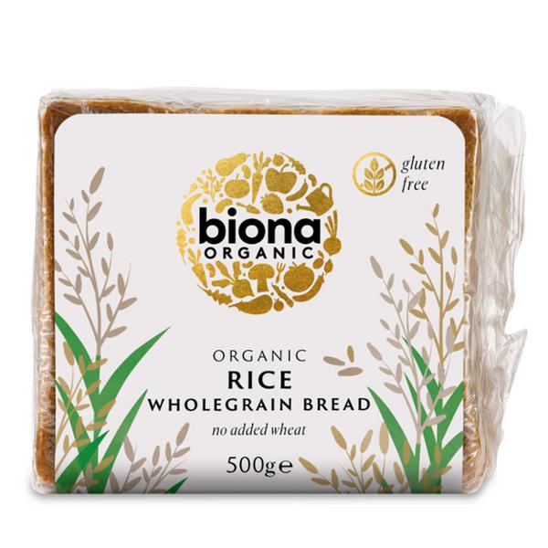 Rice Bread Gluten Free, no sugar added, Vegan, ORGANIC