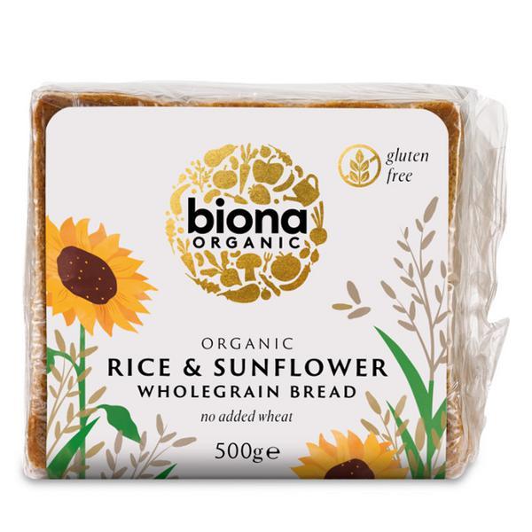 Rice Sunflower Bread Gluten Free, ORGANIC