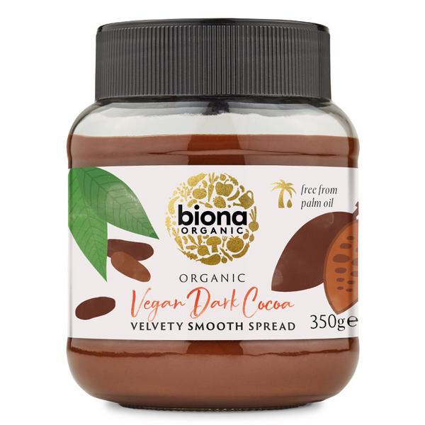 Dark Chocolate Spread wheat free, ORGANIC