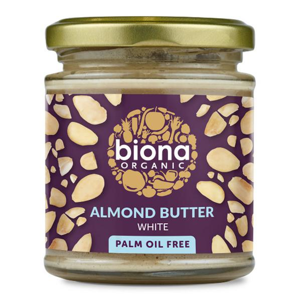 White Almond Nut Butter no sugar added, ORGANIC