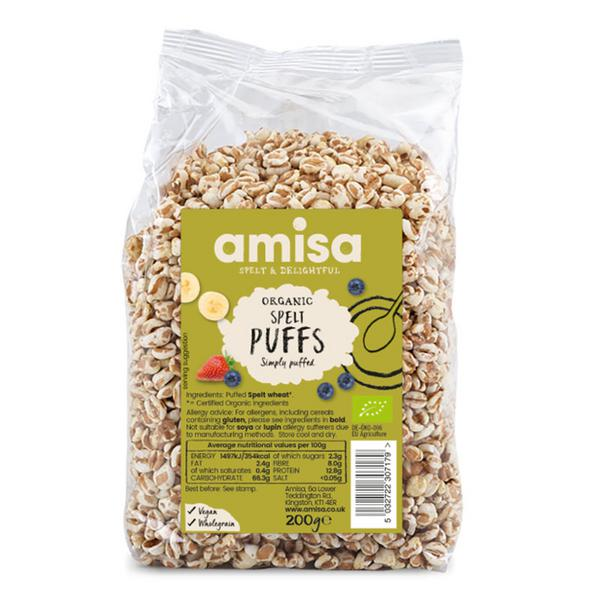 Spelt Puffed Cereal ORGANIC