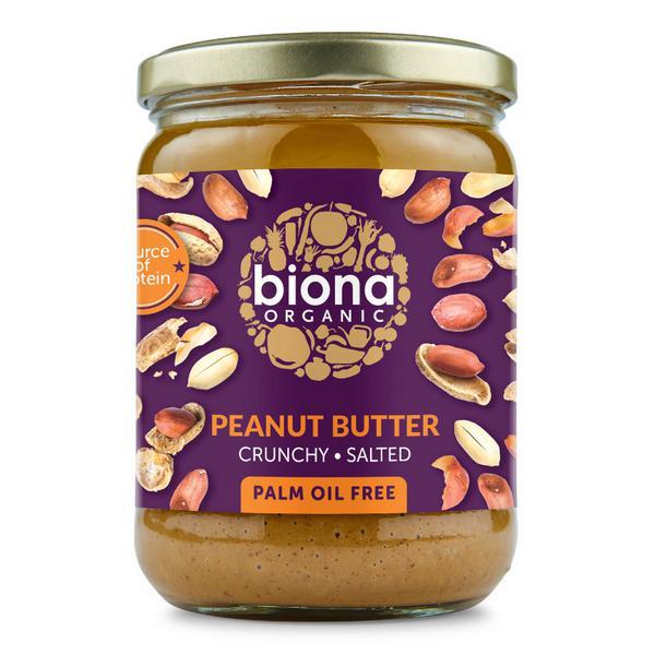 Crunchy Peanut Butter With Sea Salt ORGANIC