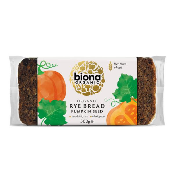 Rye & Pumpkin Bread ORGANIC