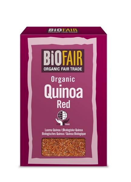 Red Quinoa Grain FairTrade, ORGANIC