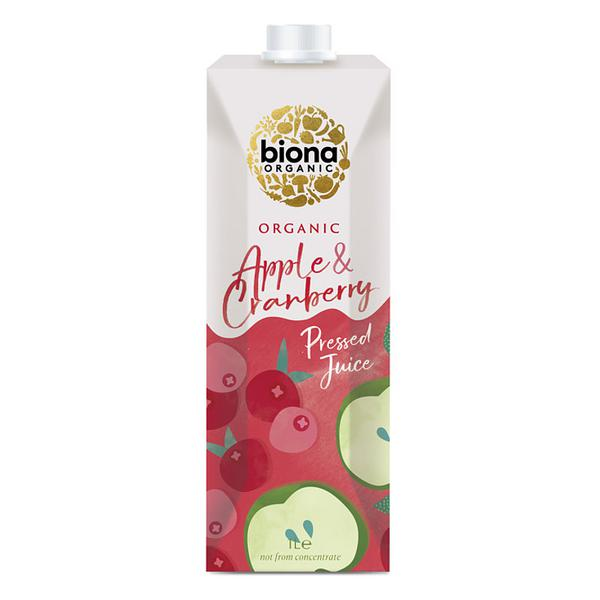 Apple & Cranberry Juice ORGANIC