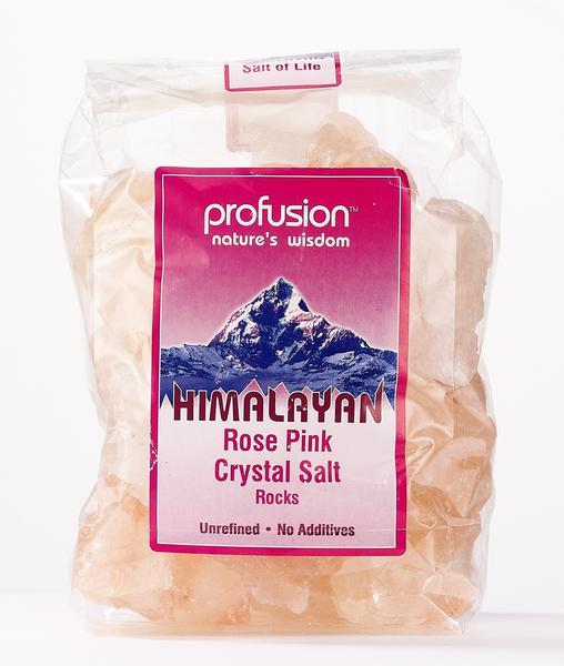 Rose Pink Rock Salt