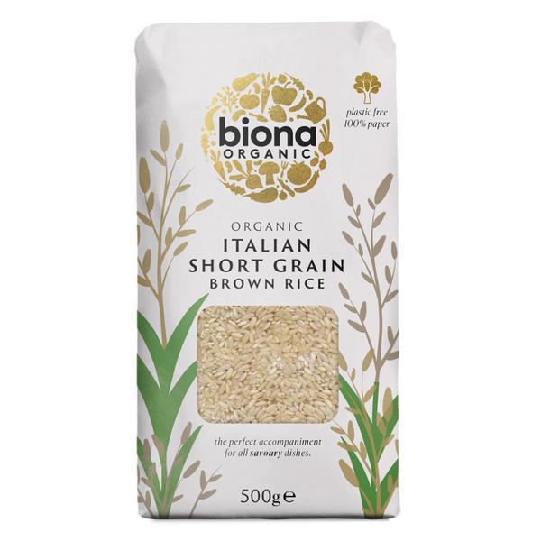 Italian Short Grain Brown Rice ORGANIC