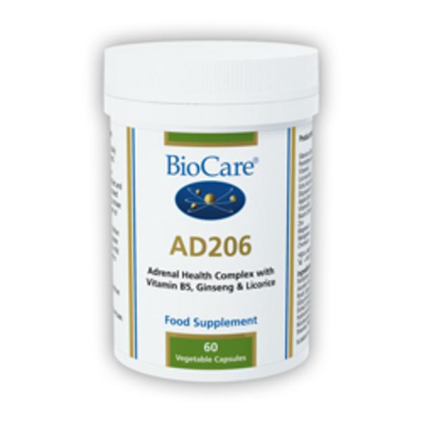 Adrenal Support Nutrient Supplement AD-206 Vegan