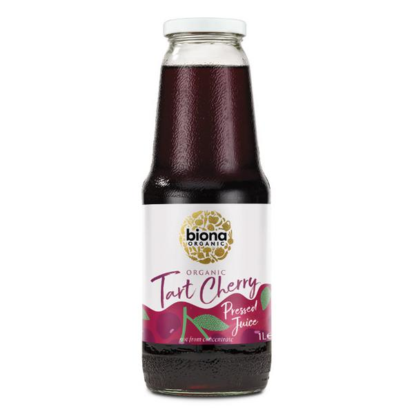 Pure Tart Cherry Juice no sugar added, ORGANIC