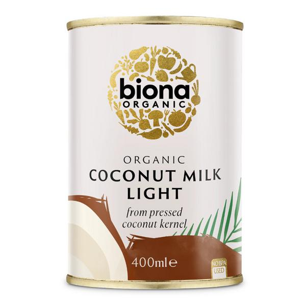 Light Coconut Milk 9% Fat ORGANIC