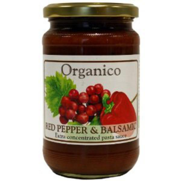 Red Pepper & Balsamic Pasta Sauce Vegan, ORGANIC