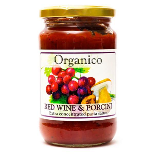 Red Wine & Porcini Pasta Sauce Vegan, ORGANIC