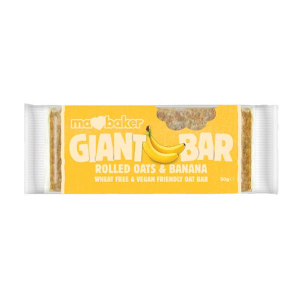 Banana Fruit Bar Giant Vegan, wheat free