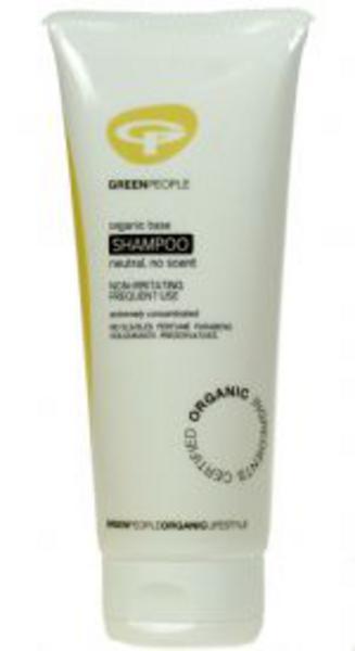 Organic Base No Scent Shampoo Vegan, ORGANIC