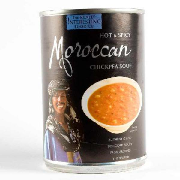 Moroccan Chickpea Soup dairy free, Gluten Free, Vegan