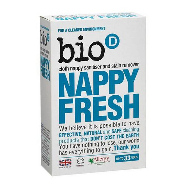 Nappy Fresh Nappy Fresh Nappy Cleaner In 500g From Bio D