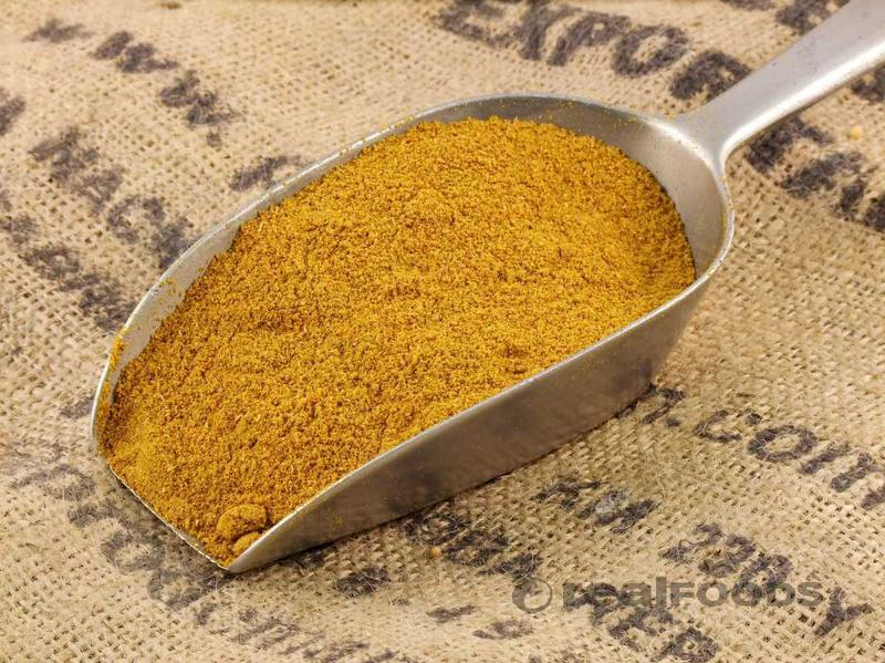 Curry Powder Hot No Gluten Containing Ingredients