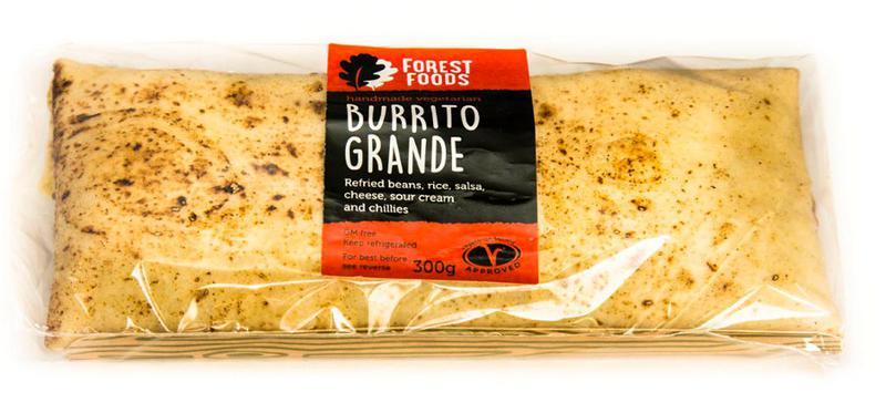 Burrito Ready Meal Grande Wrapped