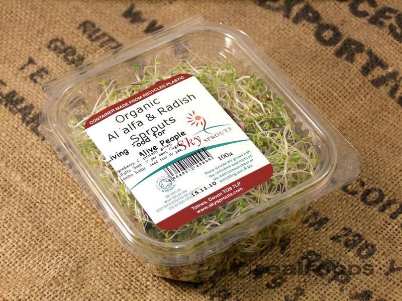 Alfalfa & Radish Sprouts ORGANIC