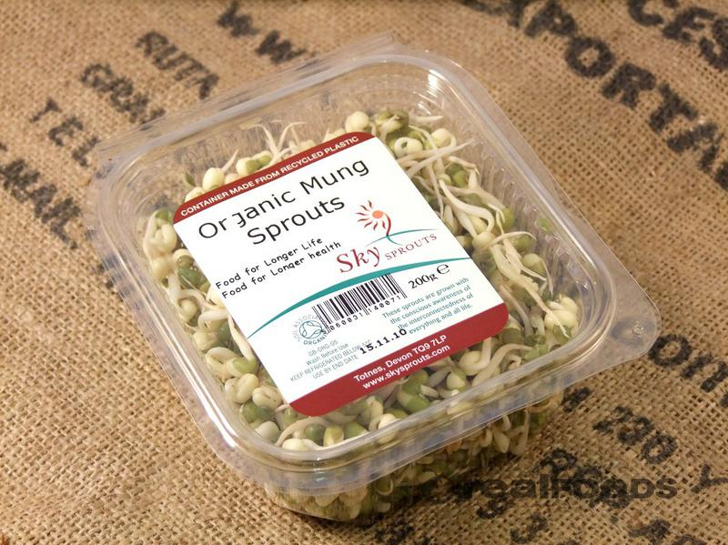 Mung Beans Sprouts ORGANIC