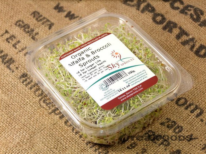 Alfalfa & Broccoli Sprouts ORGANIC