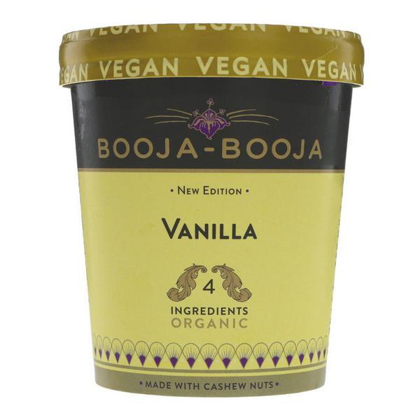 Keep Smiling Vanilla M'Gorilla Dairy Free Ice Cream sugar free, Vegan, ORGANIC