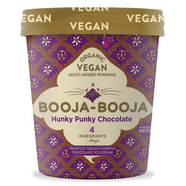 Chocolate Dairy Free Ice Cream Hunky Punky Vegan, ORGANIC